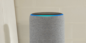Amazon Echo Device On Countertop